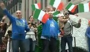 Italienisches Flair am Columbus Day in New York