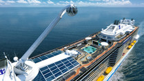 "Royal Caribbean verpasst ""Quantum of the Seas"" Aussichtsgondel"