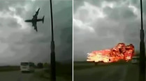 Boeing-747-Crash: Video zeigt fatalen Absturz in Afghanistan