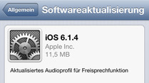 iPhone 5: Apple liefert exklusiv iOS 6-Update