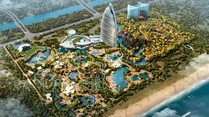 """Atlantis, Sanya Hainan"": 1,5 Milliarden Dollar teure Hotel-Anlage in China"