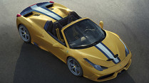 Autosalon Paris 2014 Ticker: Ferrari 458 Speciale A am Start