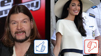 The Voice of Germany und Amal Alamuddin: Top & Flop des Tages