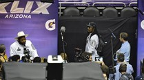 NFL: Marshawn Lynch auf Media Day vor Super Bowl bockig