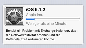 Apple iOS 6.1.2 Update für iPhone & Co. behebt nur ein Problem