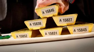 Bundesbank: Gold-Transport stockt nicht