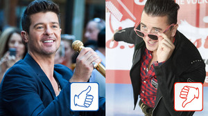 Robin Thicke & Andreas Gabalier: Top und Flop des Tages