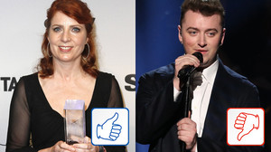 Top & Flop des Tages: Monica Lierhaus und Sam Smith