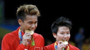 Olympia: Erstes Badminton-Gold geht an indonesisches Mixed