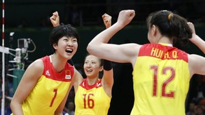 Olympia 2016: Chinas Volleyballerinnen holen drittes Mal Gold