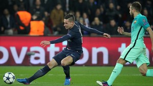 PSG schießt Barcelona ab: Draxler trifft, di Maria knipst doppelt