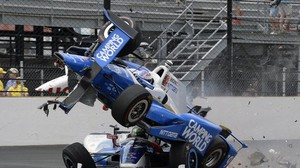 Motorsport: Erneuter Horror-Crash beim Indy500