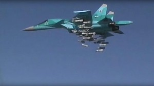 Russland bombardiert fliehende IS-Kämpfer in Syrien