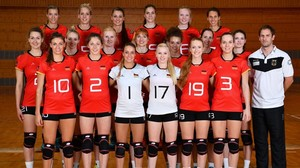 Volleyball: Volleyballerinnen im Finale beim Turnier in Montreux