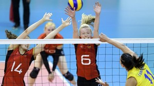 Volleyball - Volleyballerinnen Zweite in Montreux:
