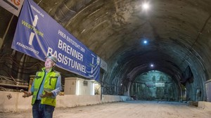 Brenner Basistunnel: Projekt der Superlative in Bildern