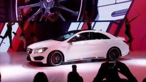 Premiere für Mercedes CLA 45 AMG in New York