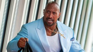 Dwayne Johnson in Michael Bays