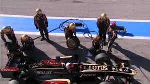 So funktioniert das Lotus F1 Team