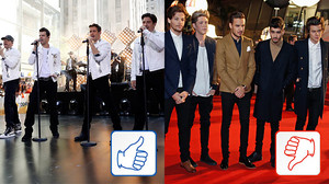 New Kids on the Block & One Direction: Top & Flop des Tages