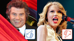 Andy Borg und Taylor Swift