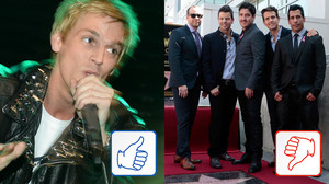 Aaron Carter & New Kids on The Block: Top & Flop des Tages