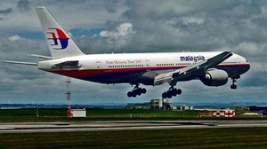 Malaysia-Airline MH370 stürzte steil ab