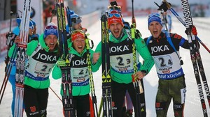 Biathlon-WM 2017: Deutsche Mixed-Staffel holt Gold