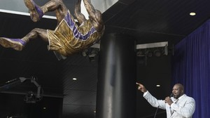 Shaquille O'Neal: Lakers ehren