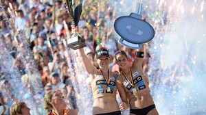 Holler/Wickler deutsche Beachvolleyball-Meister