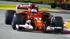 Formel 1 in Singapur: Vettel sichert sich Pole Position