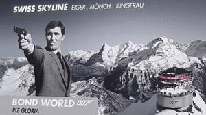 Bond-Fieber am Piz Gloria