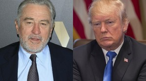 Robert De Niro disst Donald Trump in einer Rede