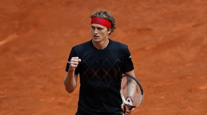 Tennis: Zverev bei Tennis-Turnier in Madrid im Viertelfinale