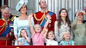 Trooping-the-Colour-Parade: Die Mini-Royals mischen den Palastbalkon auf
