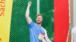 Leichtathletik: Christoph Harting Zweiter in Paris