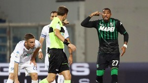 Serie A: Kevin-Prince Boateng trifft erneut für Sassuolo