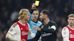 Karte provoziert? Real Madrids Ramos droht Sperre in Champions League