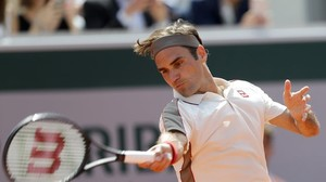 French Open: Federer nach 400. Grand-Slam-Match im Achtelfinale in Paris
