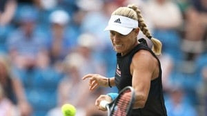 WTA-Turnier: Angelique Kerber in Eastbourne im Achtelfinale
