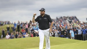 Major in Nordirland - British Open: Irlands Golfer Lowry dominiert vor Finaltag