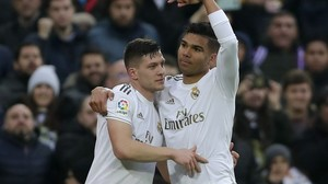 Primera Division: Doppelpacker Casemiro schießt Real Madrid an Tabellenspitze