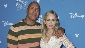 Neues aus Hollywood: Dwayne Johnson und Emily Blunt planen Superhelden-Film
