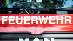Brand in Autohaus in Nagold